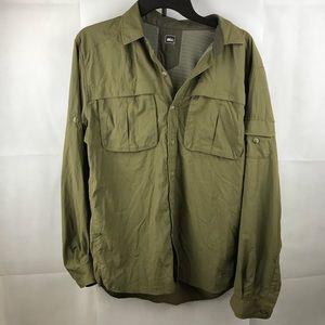 REI Long Sleeve outdoor shirt vented